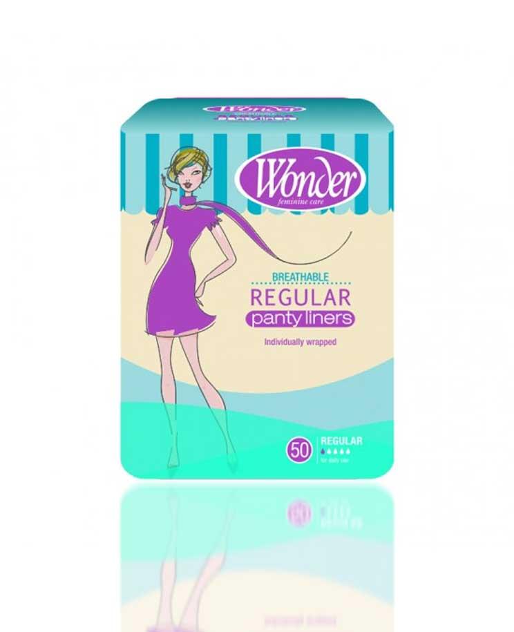 Wonder Regular Panty Liners